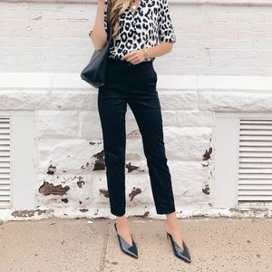 Merona Black Ankle Pants